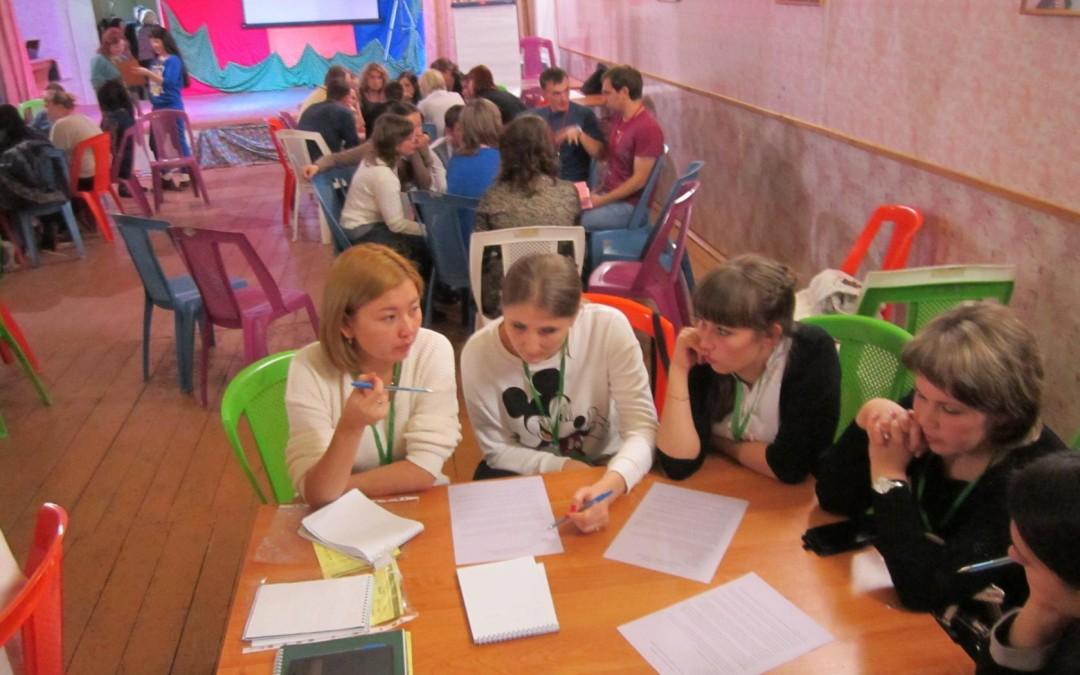 Сотрудники комитета защиты мира провели мастер-класс на молодежном форуме специалистов системы образования Омской области