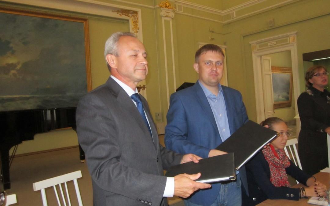 Подписано соглашение о сотрудничестве с музеем имени М.А. Врубеля